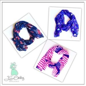 American Themed Scarf